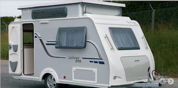 Fantastic New Silver 340 TDE 2012 Pop Up Caravan  YouTube
